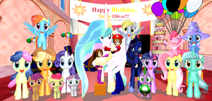 Happy Birthday, Nicole Oliver!!! (Feb. 22, 2014) by Mario-McFly