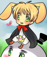 .:Happy Easter and Bday Iggy:. by CerudianStar