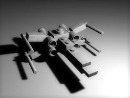 Toy X-Wing Preview by JanD