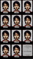 Clementine Facial Expressions Study by DaxProduction