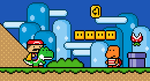 Super Mario World Scene by deddoheddo