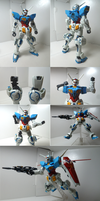 HG 1/144 Gundam G-Self + Space Equipment Review by Blayaden