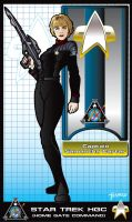 Captain Samantha Carter by stourangeau