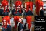 Yoko Wig Commission - Test by xHee-Heex