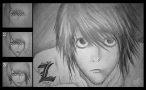 L Lawliet by jKeeO