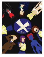 Xmen: First Class poster by TheNoirGuy