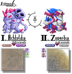 GBA Pkmn hack:Pkmn 6 - Entities of sin (I) by dragon-du-22