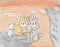 Tails and Cream by SonicSega1991