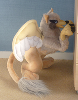 Griffin plush: finished by goiku