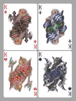 Playing cards: Kings by Wen-M