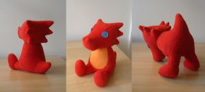 Scalemate plushie by Eyes5