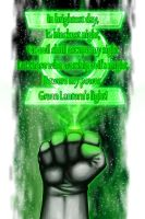 Green Lantern Oath by halwilliams