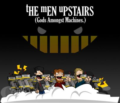 Gods Amongs Machines by space-bean
