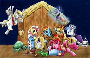 MLP Christmas Parody by Babero