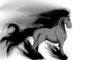 Amaterasu Horse by MaterFinger