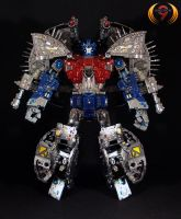 Primus Cybertron Custom Clean by Unicron9