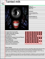 Tainted Milk atrocity card by cleffe