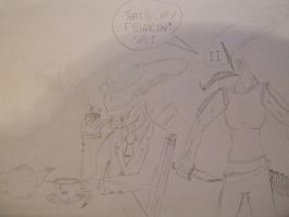 xeno chap in a bad spot - don't expect colored by spyaroundhere35