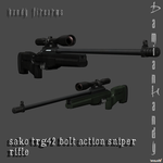 SAKO TRG42 Sniper Rifle by DamianHandy