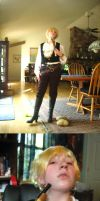 APH Cosplay: Pirate England by frozen-lightning