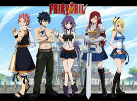 Fairy Tail - A New Recruit by reincarnationz