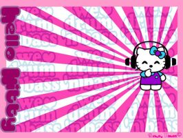 Hello Kitty hearts dnb by I-heart-HelloKitty
