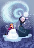 Do You Want To Build A Snowman? by samanthadoodles