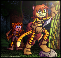 Jungle Roaming by FOX-POP