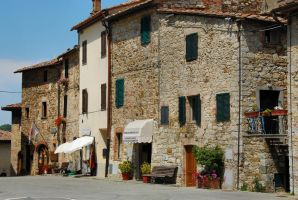 towns of Tuscany I by Wilithin