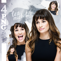 PNG PACK (146) Lea Michele by DenizBas
