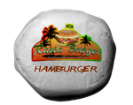 Rasta Burger Hamburger by MrAngryDog