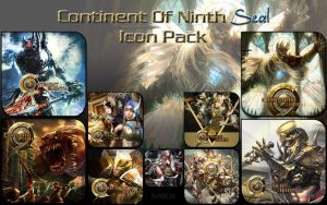 C9 - Continent of Ninth Seal Icon pack by Kalca