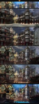 Tudor River City Process by ScottPellico