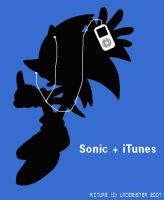 Sonic + iTunes by Uncemister