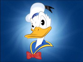 Donald Duck by CyranoInk