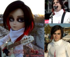 Jared Leto Custom Doll by 5akuraD1va