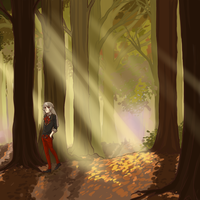 Let's play in the forest by Neye