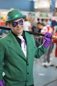 The Riddler - Animated Series IV by ArlindoAlves