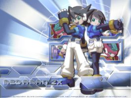 Megaman ZX Wallpaper by Wasudo