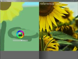 Speedy Painter 1.4 - reference view feature by buzzelliArt