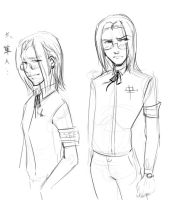RP doodle - Vexen by SnowpirateRoy