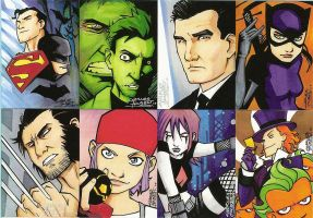 Dawn of the Sketch Cards by KidNotorious