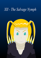 +AT+ Larxene, the Salvage Nymph by alvarobmk123