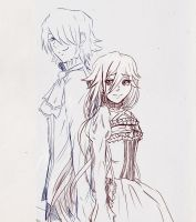 Alice and Break Xerxes by Sylphiel-13
