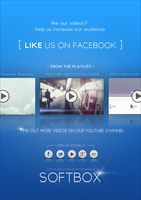 Our facebook welcome page by Softboxindia
