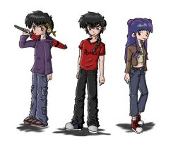 Ranma in jeans...in color by emptee182