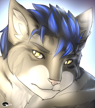 Synica's portrait commission. by Shalinka