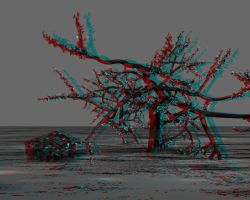 Tree Anaglyph by mrkane27