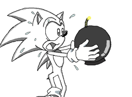 Base - Sonic and a bomb 2 by NicuaZafirethecat