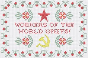 Communist Cross Stitch by Regicollis